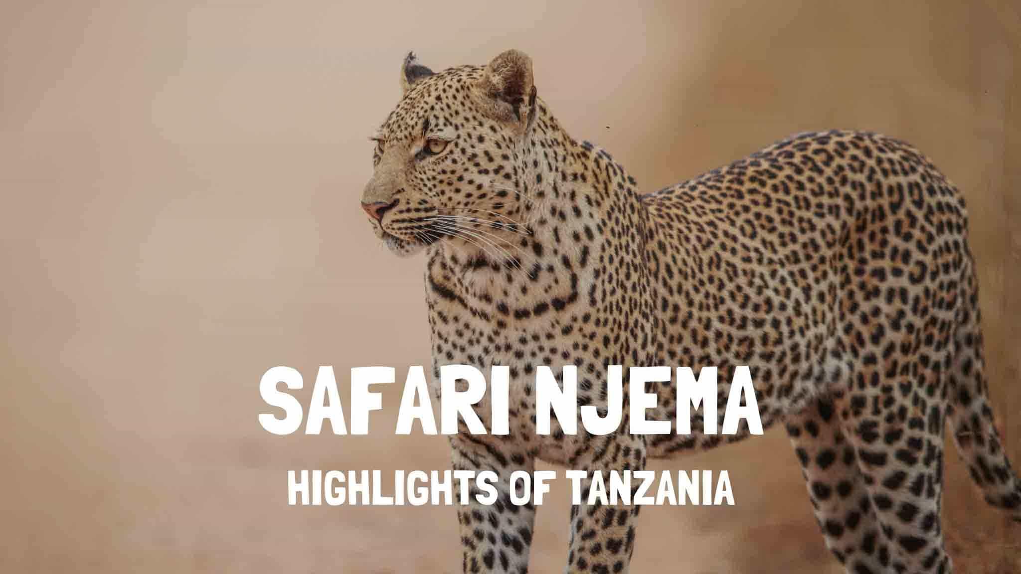 Safari Njema Tanzania - Highlights of Tanzania