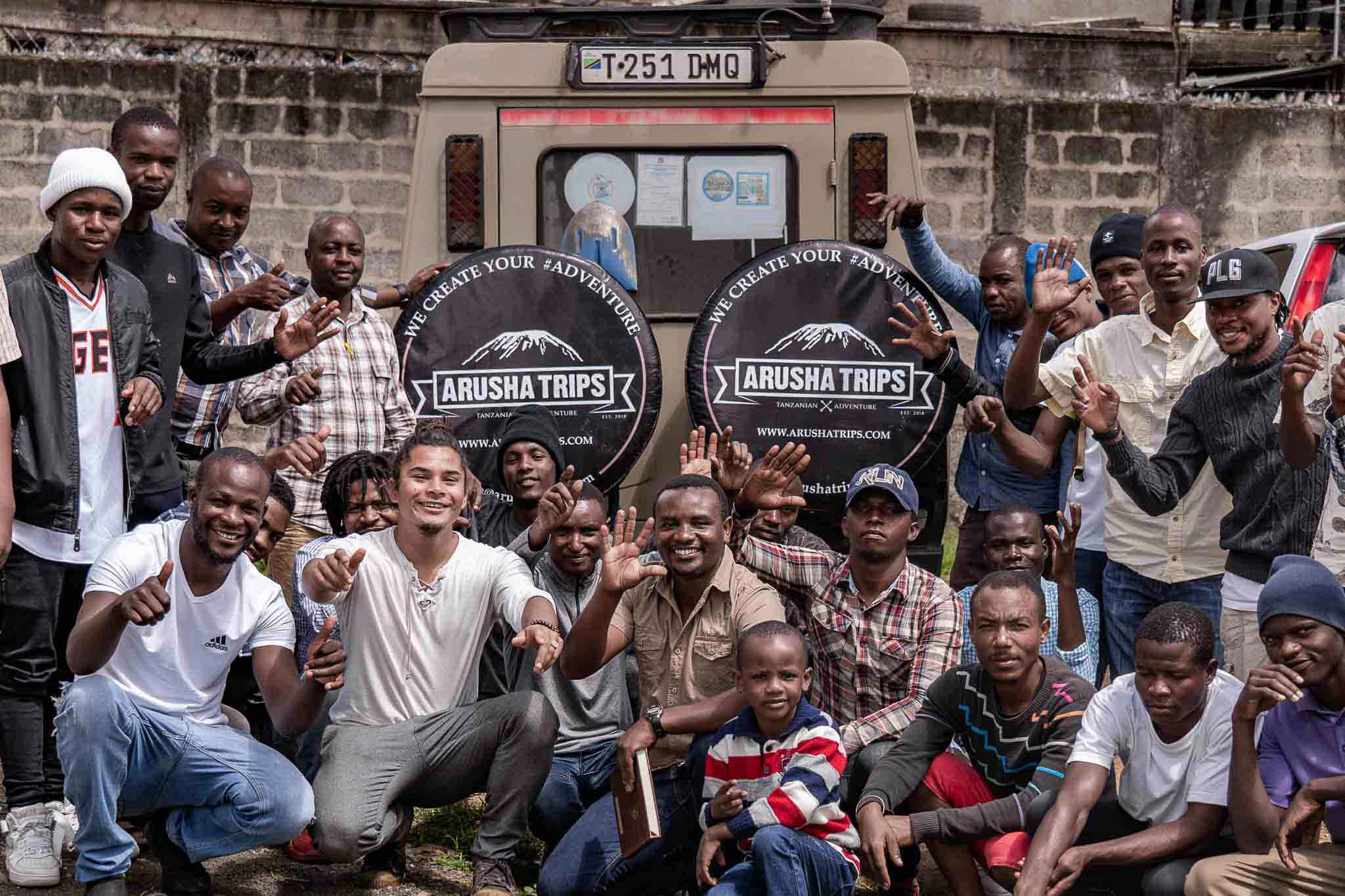 Arusha Trips about us - team