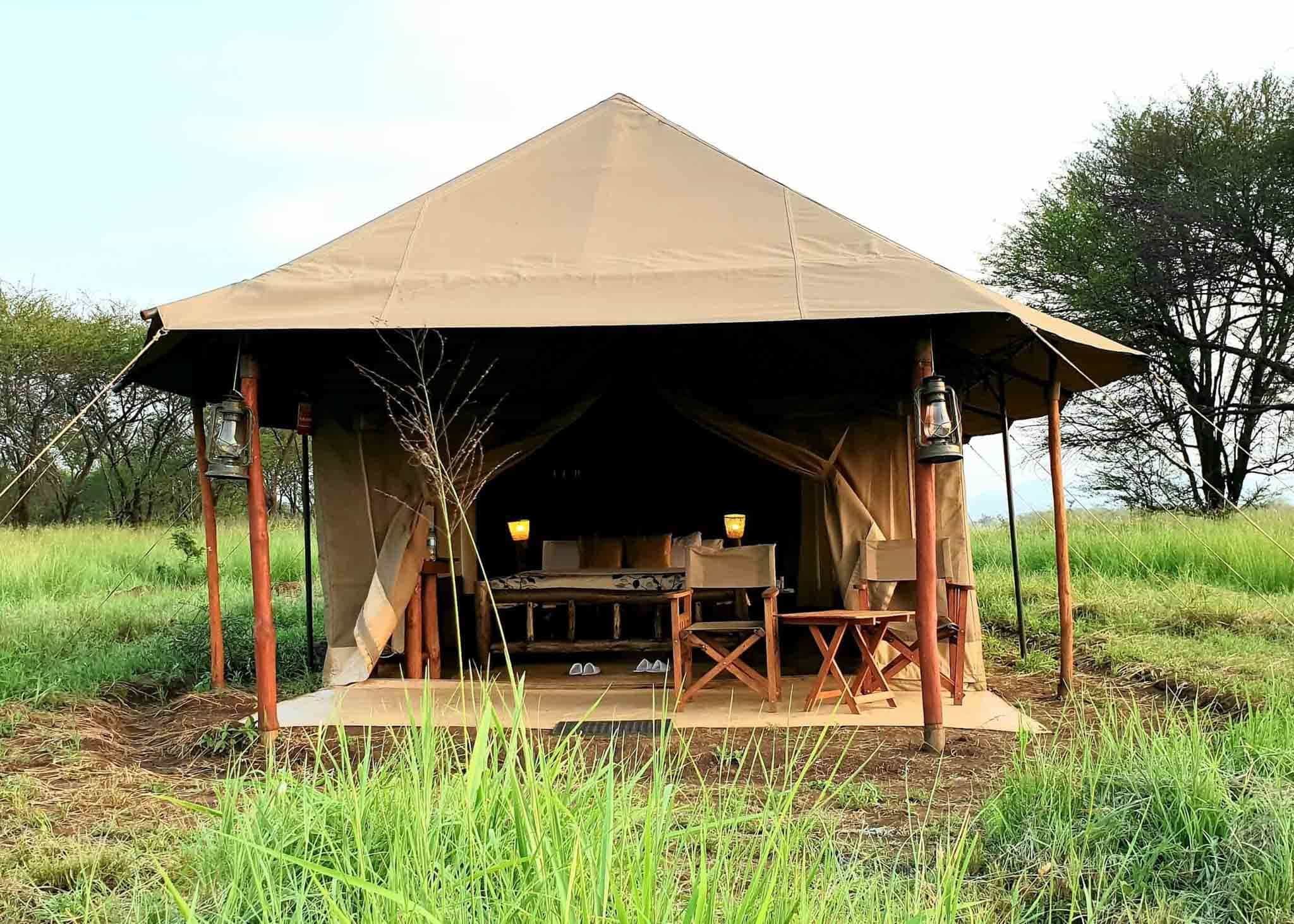 Zawadi camp serengeti
